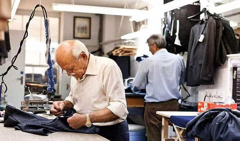 Alan David Custom Custom Suits Process New York City (NYC)