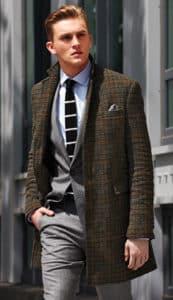 Pattern Overcoat